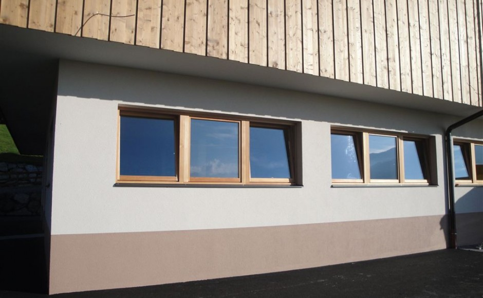 Fassade Alpbach Kuhstall